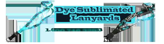 dye sublimation lanyards